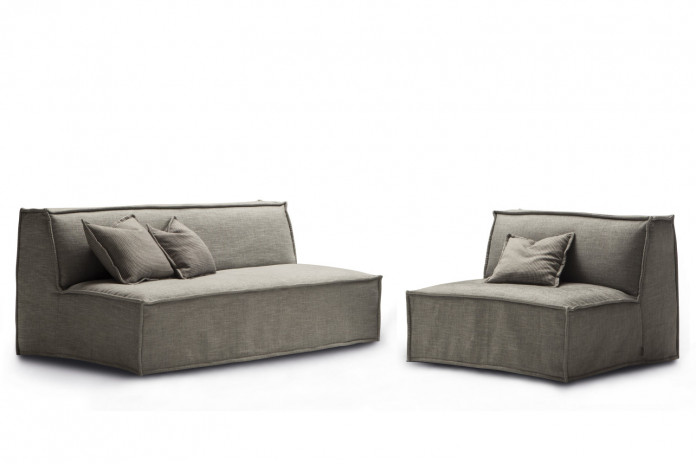 Tommy folding sofa with removable cover.