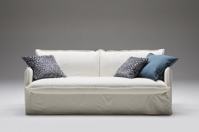 Clarke-18 sofa bed for a daily use with cm 180 high mattress