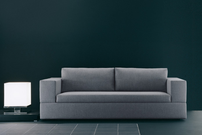 Jaco is available in fabric, eco-leather and leather is several colours.