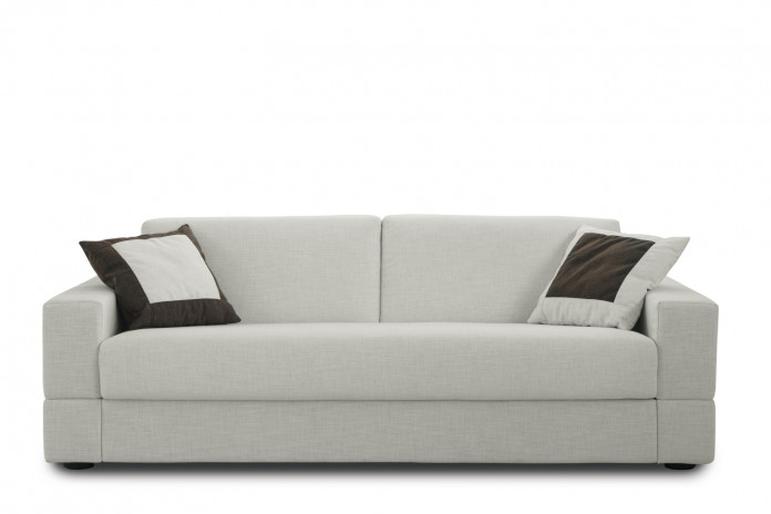 Brian sofa with one-piece seat.