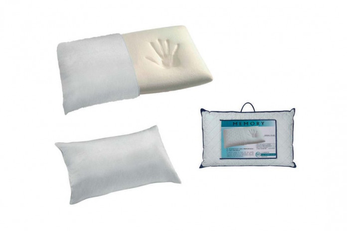 Cushion in viscoelastic memoy foam with terrycloth cover