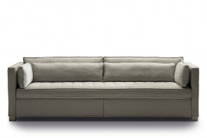 Andersen sofa bed with one piece seat.