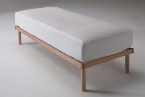 Air transpiring cotton terrycloth mattress cover
