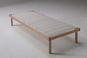 Air slatted bed base cover