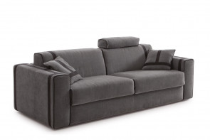 Ellington sofa with headrest cushions.