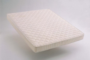 Latex mattress with different comfort zones