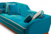Detail of Jeremie Trendy with velvet cover by Designers Guild.
