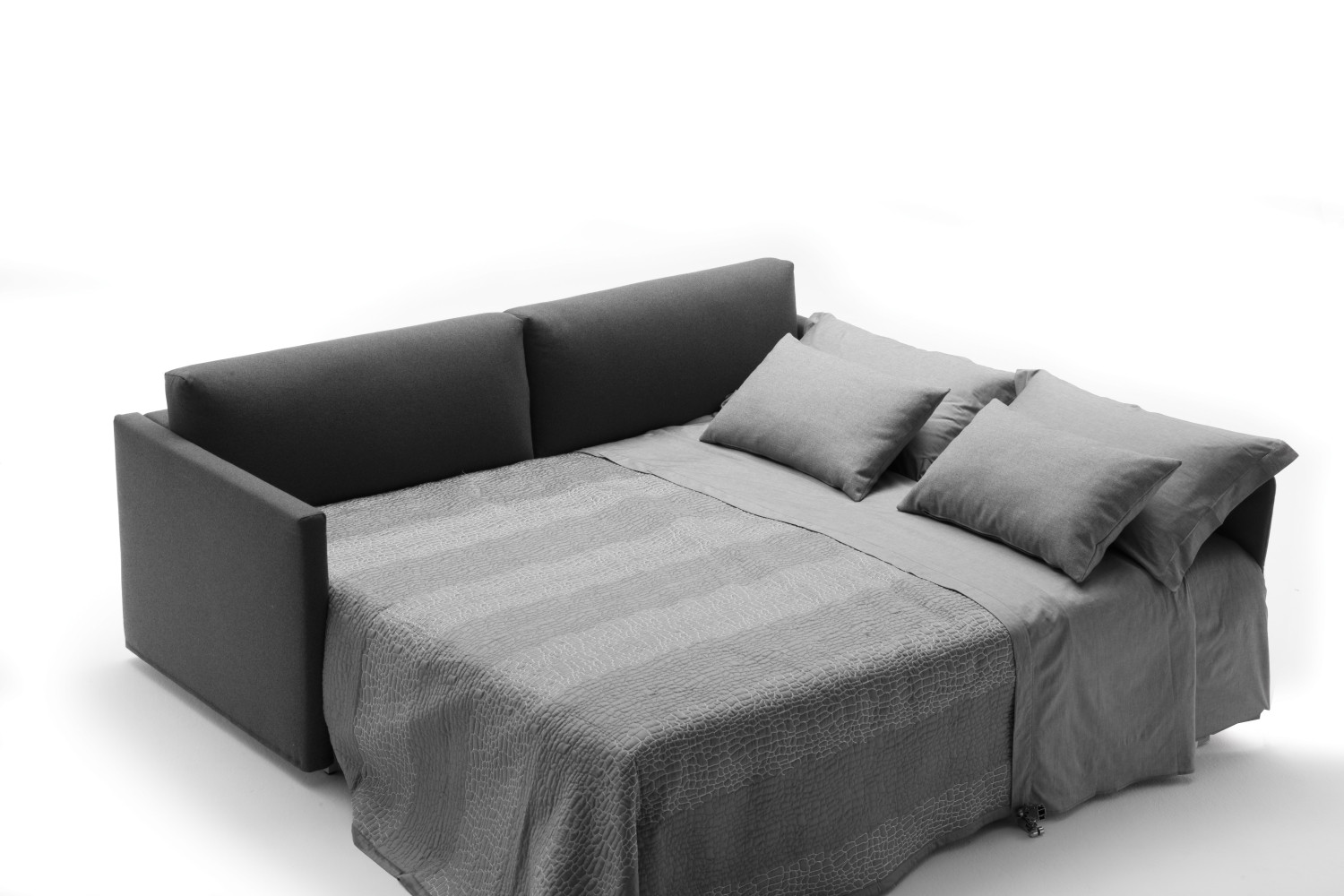 schlafsofa mit ausziehbaren bett frank. Black Bedroom Furniture Sets. Home Design Ideas
