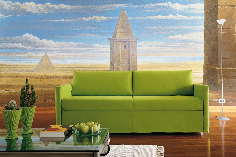 schlafsofa mit ausziehbaren bett frank. Black Bedroom Furniture Sets. Home Design Ideas
