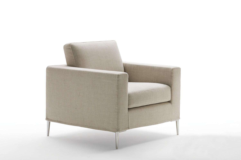 Modernes Sofa mit Metallfüße Grace