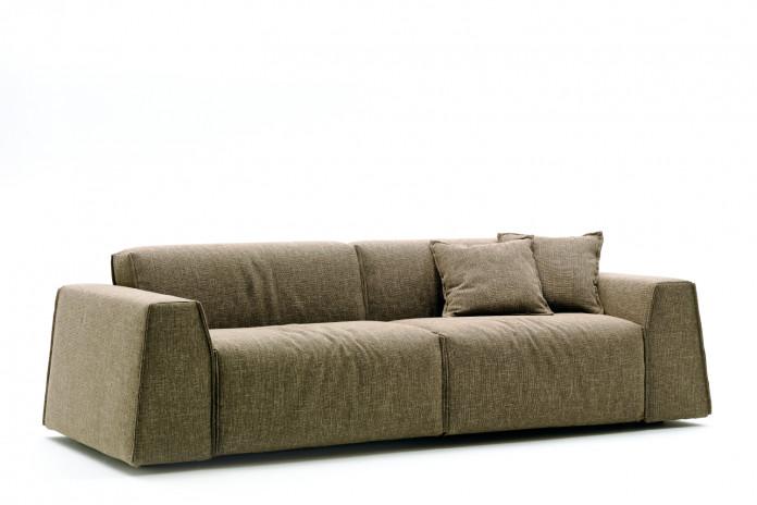 Parker Sofa mit niedriger Rückenlehne