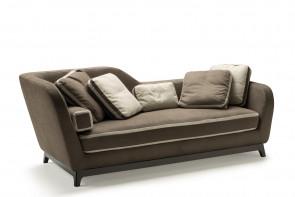 Jeremie 3-Sitzer Design Sofa, in mehreren Bezügen erhältlich