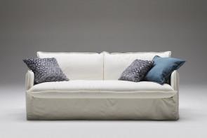 Clarke-18 gemütliches Dauerschläfer Sofa mit einer 18 cm hohen Matratze
