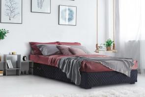 Devon Doppel-Sommier-Bett ohne Kopfteil