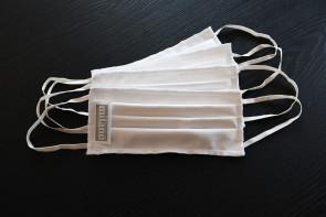 Protezione facciale Milano Bedding con elastico e certificato OEKO-TEX 100