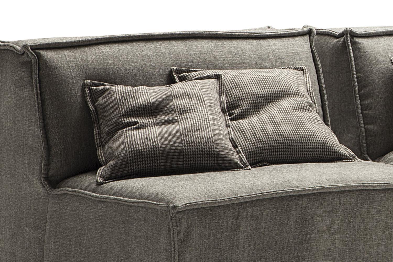 coussin en tissu prince de galles tommy. Black Bedroom Furniture Sets. Home Design Ideas