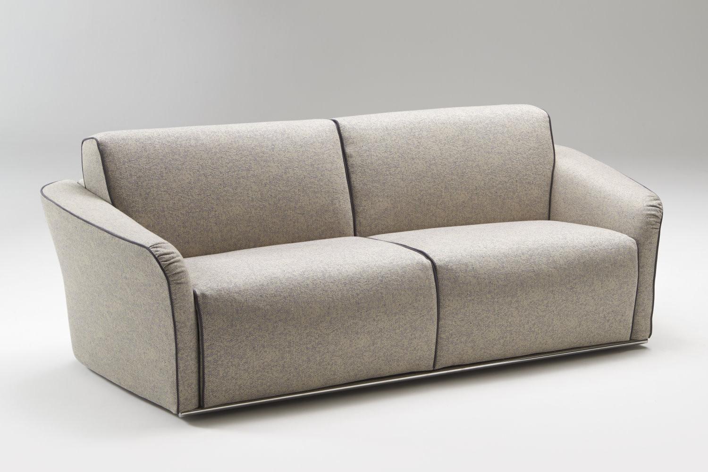 canap italien avec large assise groove. Black Bedroom Furniture Sets. Home Design Ideas