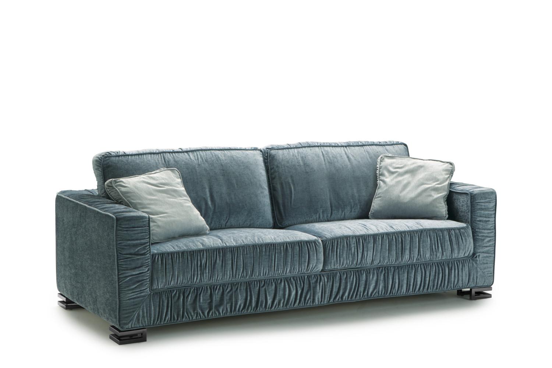 Canapé convertible en plume pour couchage quotidien Garrison