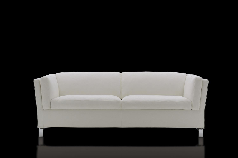 Canap lit au design italien benny - Lit design italien avec sommier inclus ...