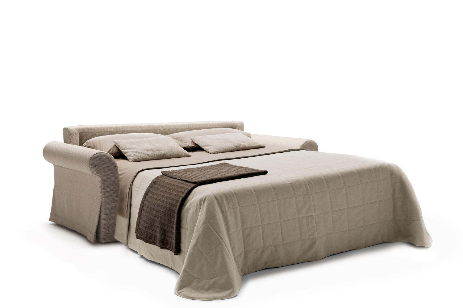 canap lit avec vrai matelas ellis. Black Bedroom Furniture Sets. Home Design Ideas