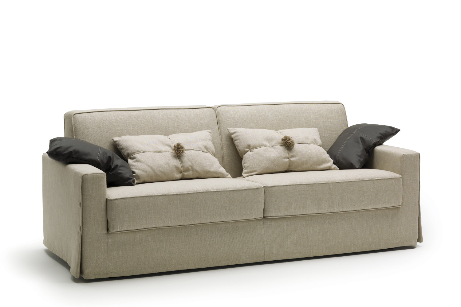 Canap convertible couchage quotidien taylor for Convertible couchage quotidien