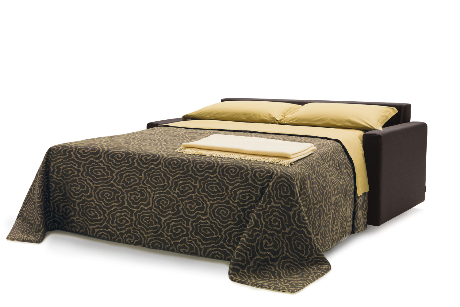 canap convertible avec matelas 18 cm jan. Black Bedroom Furniture Sets. Home Design Ideas