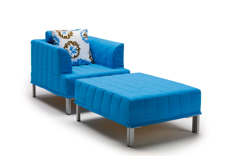 pouf lit ouverture express chick. Black Bedroom Furniture Sets. Home Design Ideas