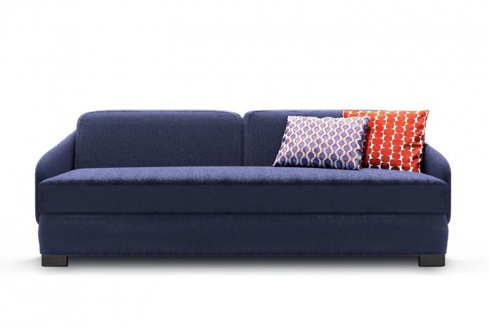 Canapé 3 places déhoussable en tissu Vivien