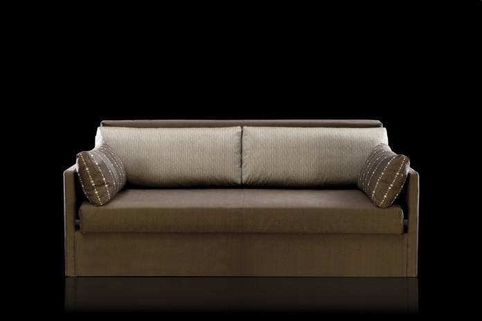 Canapé convertible rapido avec lits superposé George. Existe en 3 places et XXL