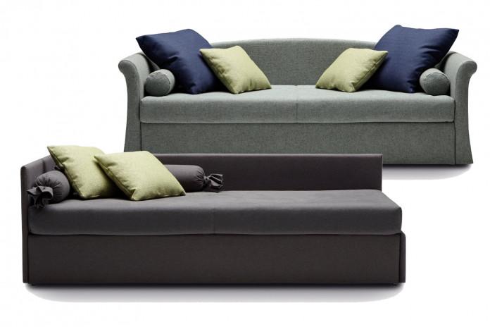 Canapé lit tiroir pour la chambre des enfants ou des adultes Jack et Jack Classic