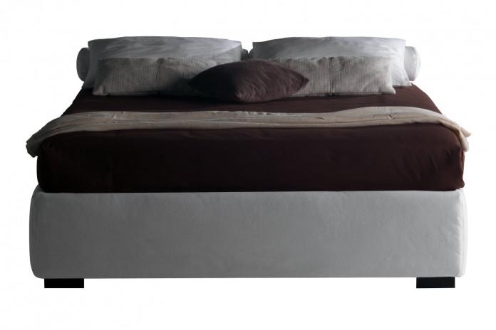 Lit sans tête de lit et coffre à double ouverture Barbados