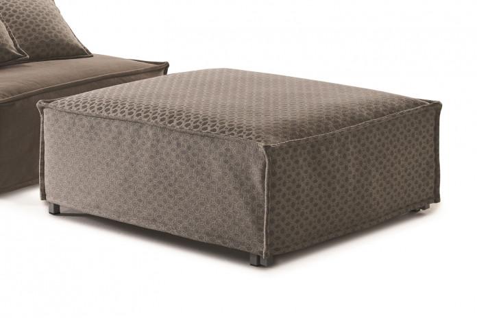Tommy, pouf transformable en lit simple, une place et demie, double et queen size