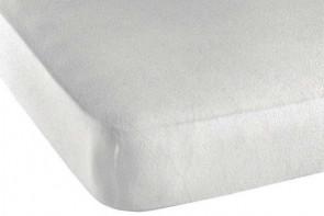 Protège matelas avec élastique en coton et tissu éponge