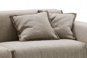 Coussins carrés déco et d'ameublement pour canapés et lits