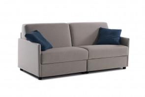 Canapé avec double couchage: le plan de repose se compose de 2 lits simples