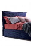 Tête et cadre de lit matelassés