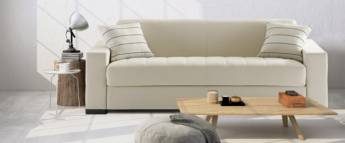Canapé modulable avec assise matelassée Matrix