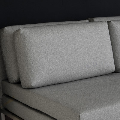 Divano letto con apertura a libro willy - Cuscini schienale divano ...